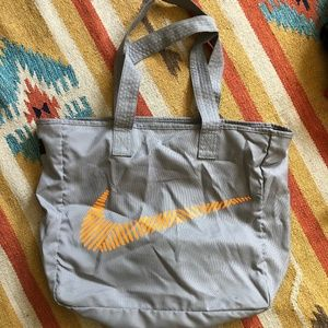 Nike Zipper Gym Tote with Inside Pocket